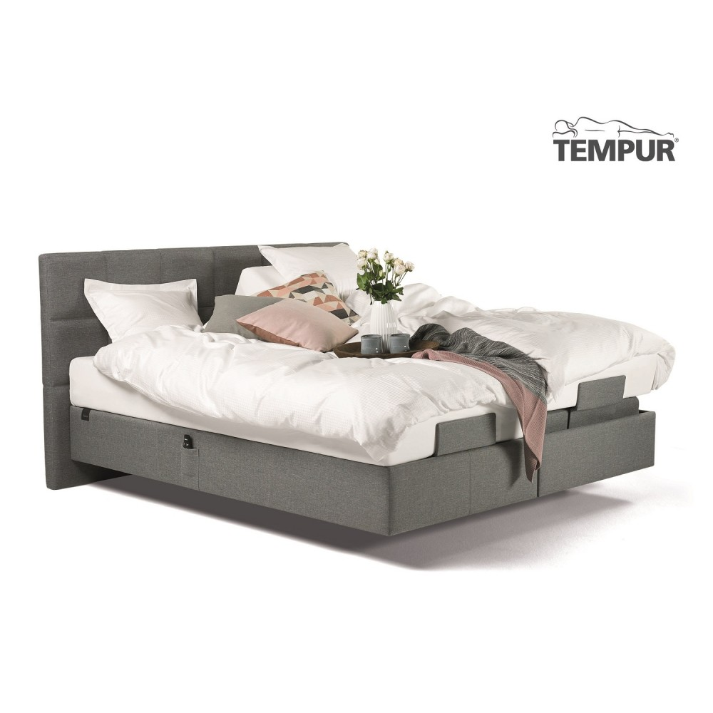 Tempur Spring box Adjustable Elevationsseng inkl. Hybrid Supreme Cooltouch Madrasser og gavl-02