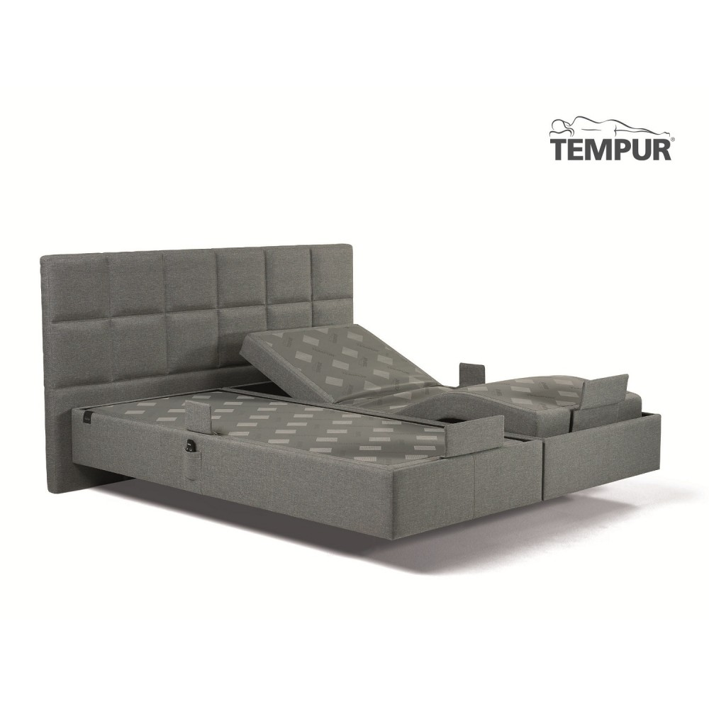 "Tempur Spring box Adjustable Elevationsseng "" INKL. PRIMA COOLTOUCH TEMPUR MADRAS""-05"