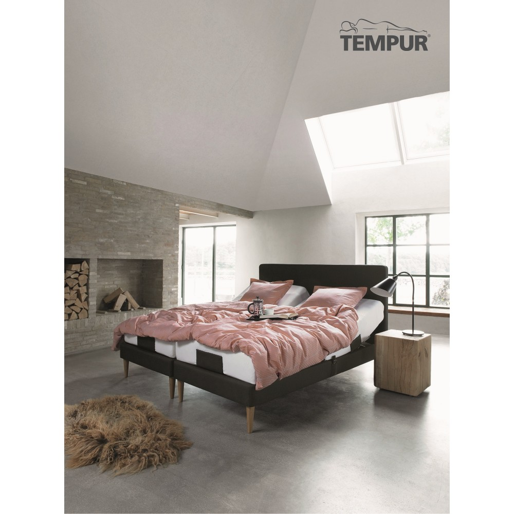 """Tempur Move elevationsseng """" INKL. TEMPUR COOLTOUCH PRIMA MADRAS 19 CM""""-33"""