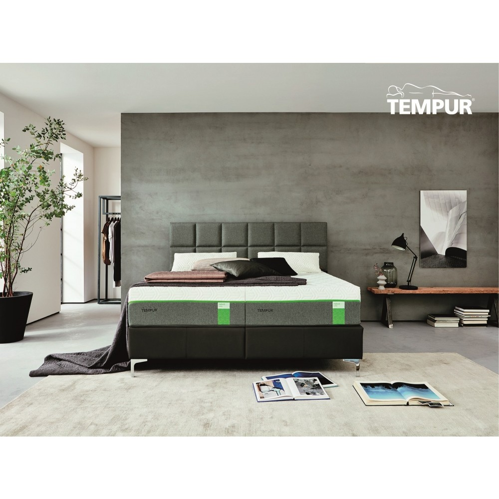 Tempur Spring box Adjustable Elevationsseng inkl. Hybrid Supreme Cooltouch Madrasser og gavl-32