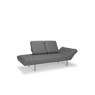 Innovation Rollo Stem sovesofa med fast betræk-20