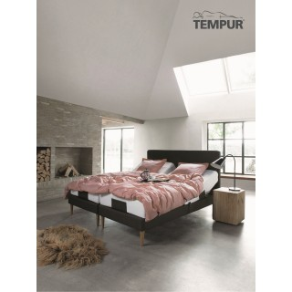 """Tempur Move elevationsseng """" INKL. TEMPUR COOLTOUCH PRIMA MADRAS 19 CM""""-20"""
